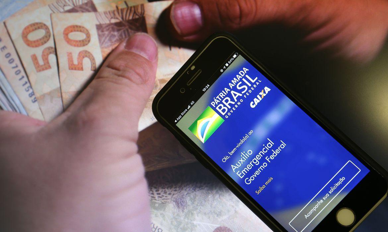 auxílio emergencial © Marcello Casal jr - Agência Brasil